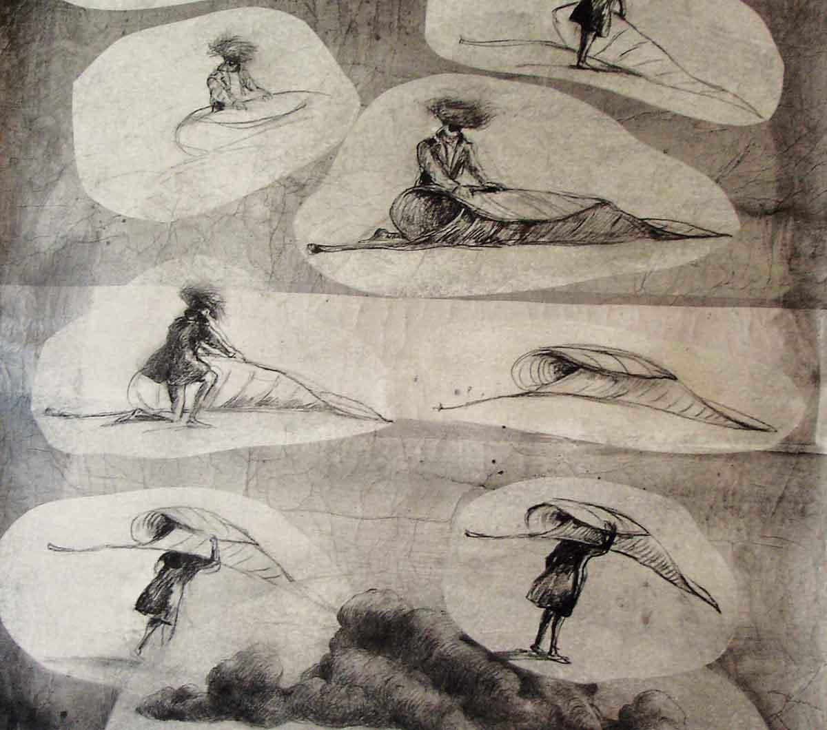 11-couverture - les triangles allongés - philippe poirier
